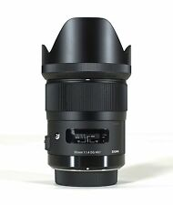 SIGMA 35mm F1.4 DG HSM 'ART SERIES' LENS SONY A-MOUNT & BONUS 16GB SD CARD