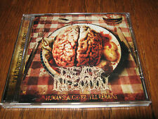 "DEAD INFECTION ""Human Slaughter...Till Remains"" CD  carcass exhumed"