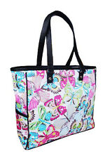 Thirty One Cindy Tote Large Utility Shoulder Bag Purse Butterfly New 31 Gifts