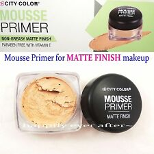 City Color Mousse Primer for MATTE FINISH- Matte Finish Face Primer *US SELLER*