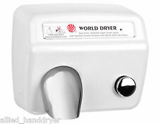WORLD DA54(208/230V)Hand Dryer with Stamped Steel Cover