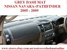DASH MAT, DASHMAT FIT NISSAN NAVARA / PATHFINDER 2005 - 2009, GREY