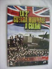 LA 2A GUERRA MONDIALE A COLORI VISTA DAGLI INGLESI - DVD PAL SIGILLATO