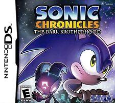 Sonic Chronicles: The Dark Brotherhood - Complete Nintendo DS