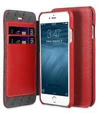 """Melkco Premium Leather Case for Apple iPhone 7 (4.7"""") - Face Book RED H123"""