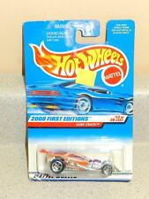 HOT WHEELS- SURF CRATE- 2000 FIRST EDITIONS- NEW ON CARD- L37