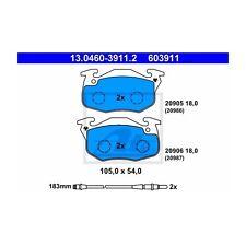 Ate 603911 de guarnición frase, freno de disco delantero 13.0460-3911.2