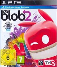 PlayStation 3 de Blob 2 move compatible como nuevo