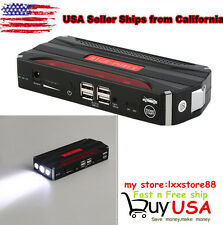 Portable Minimax 68800mAh 4USB Car Jump Starter 12V Battery Charger Power Bank T
