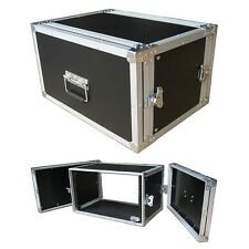 "6 Space 6u 12"" Deep ATA 1/4"" Rack Case - RESELLER'S DREAM 25% OFF SALE!"