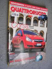 QUATTRORUOTE # 611 - SETTEMBRE 2006 - FERRARI 599 E MINI COOPER -  OTTIMO