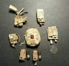 "1:6 AOR1 Camo Pouch Lot 12"" GI Joe DAM Soldier Story Hot Toy Dragon  SEAL DEVGRU"