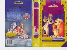 LADY AND THE TRAMP  VHS VIDEO PAL~ A RARE FIND