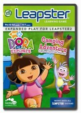 LEAPFROG DORA THE EXPLORE CAMPING ADVENTURE GAME NEW IN BOX & FREE SHIPPING