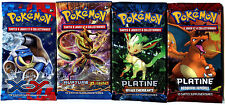 ① 4 BOOSTERS de CARTES POKEMON Neuf Aucun double en FRANCAIS (Lot N° AAZ)