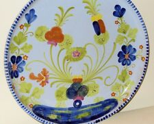 Collectible Italian Pottery Faenza SCO Orvieto Hand Painted Plate Signed Italy