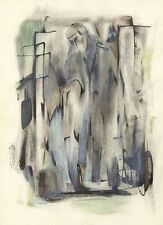 Circle of Keith Vaughan, The Unknown - Mid-20th-century watercolour painting