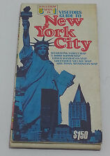 Hagstrom 5 Maps in 1 New York City Boro Vistors Guide Vintage Travel Map 1979