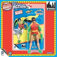 "Worlds Greatest ROBIN Retro mego Fist Fighting action  figure  8"" MIP-"
