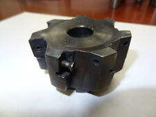 "INGERSOLL INDEXABLE FACE MILL 2J6B03R01 3"" 7 FLUTE CARBIDE INSERT SHELL MILL"