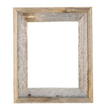 "11x14-2"" Wide Signature Relaimed Rustic Barn Wood Open Frame (No Glass or Back)"