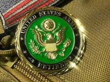 US ARMY RETIRED Served With Pride FLAG CHALLENGE COIN 45mm