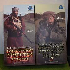 DRAGON IN DREAMS DID 1/6 MODERN ASAD & ARBAAZ AFGHANISTAN CIVILIAN FIGHTERS