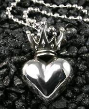 King Baby Studios Regal Crowned Heart pendant  *SHOWROOM SALE*  K10-5124