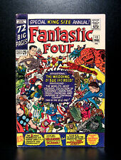 COMICS: Marvel: Fantastic Four Annual #3 (1965), Wedding of Reed and Sue - RARE