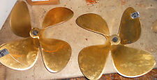 "Michigan Wheel 27 x 31 DQ Inboard Propeller Set 4 Blade Bronze 2"" Shaft (#103-13"