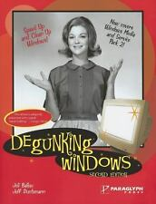 Degunking Windows  BY Jeff Ballew 2005 Contains Full Text Of Degunking Your PC O
