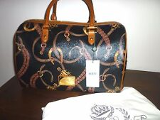 Ralph Lauren Caldwell Equestrian Barrel Bag New with Dustbag and Tags