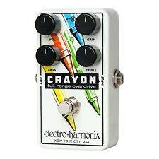 Electro-Harmonix CRAYON-76 Full Range Overdrive True Bypass Guitar Pedal EHX