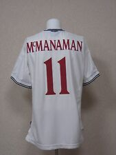 VINTAGE! McManaman 11. England Home football shirt 1999 - 2001. Size: XL. Umbro