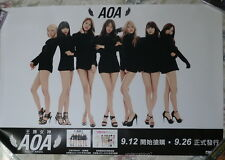 AOA Best Songs for Asia 2014 Taiwan Promo Poster (Ace of Angel)