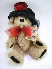 Boyds Bears Mohair Teddy Bear Plush Stuffed Animal Limited Edition Collectors