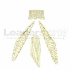 Ski-Doo New OEM REV Snowmobile Grille Hood Vent Screen Kit YELLOW 861782100