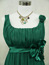 Cherlone Plus Size Chiffon Green Ballgown Bridesmaid Wedding/Evening Dress 18-20