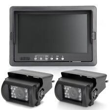 """Monitor Pantalla 7"""" TFT LCD Cámara IR 18 LED Visión Nocturna para Coche"""