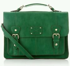 Accessorize Bright Emerald Green Satchel Bag Large Monsoon