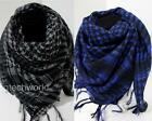 Women Men Fashion Arab Shemagh Keffiyeh Palestine Scarf Shawl Kafiya Wrap x 2