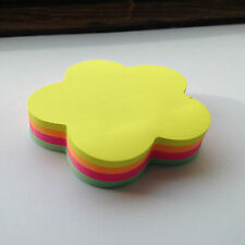 Flower shaped sticky post it Notes. 100 Plus Sheets. Top Quality.