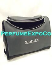 NAUTICA COMPETITION Gray and Black Toiletry Travel Bag NEW As Pictured (Y212