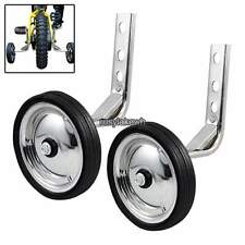 "Universal Heavy Duty Training Wheels for 12"" - 20"" Bike Kids Bicycle Children"