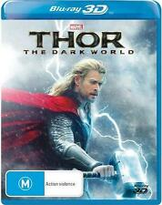 Thor: THE DARK WOLRD : Blu-Ray 3D : NEW