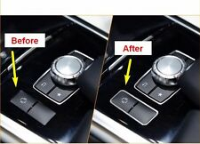Chrome Inner ES Button Cover Trim for Mercedes Benz E Class  W212 E200 E250 E300