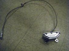 Harley Chopper Bobber Chrome 4-Piston Brake Caliper w/ Brake Line