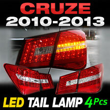 Benz Style Rear Trunk LED Tail Light Lamp 4Pcs For CHEVROLET 2010 - 2014 Cruze