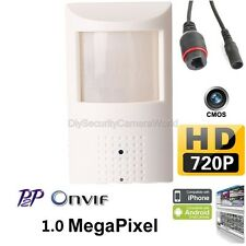 HD 720P IP Security PIR Motion Sensor Covert Camera Support P2P, Onvif, DC12V