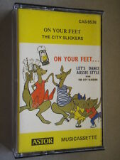 The City Slickers - On Your Feet Tape Cassette